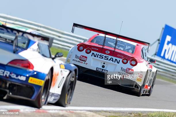 Nissan GT-R Nismo GT3 and BMW Z4 GT3