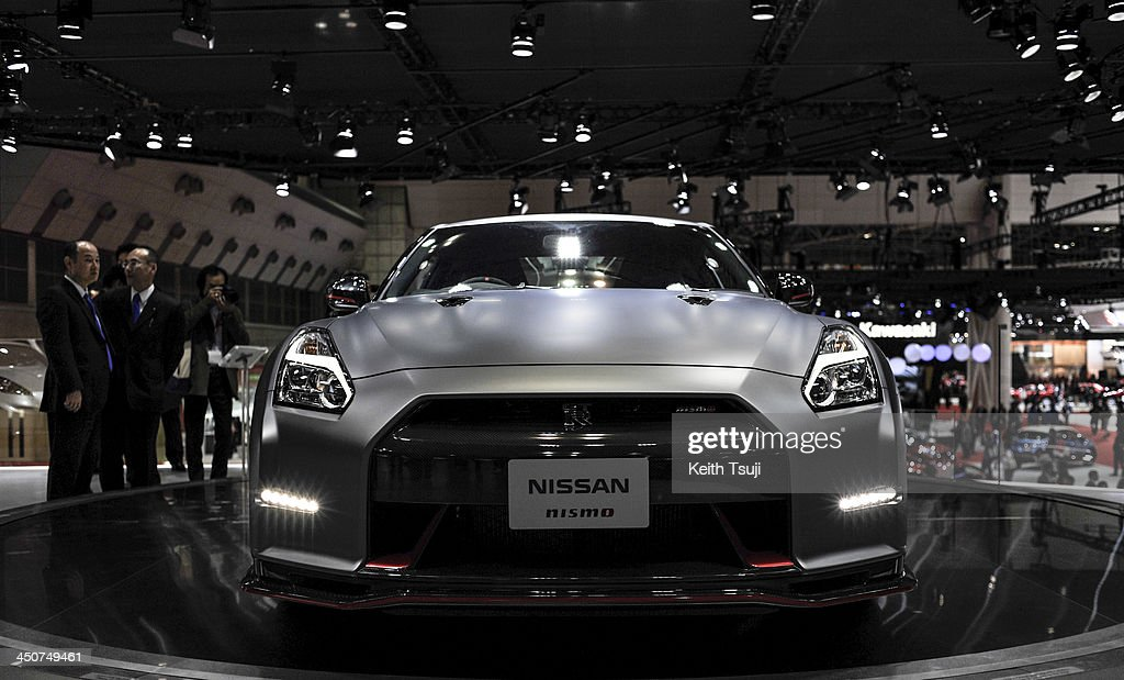 Nissan GT-R Nismo is on display during the 43rd Tokyo Motor Show 2013 at Tokyo Big Sight on November 20, 2013 in Tokyo, Japan. The 43rd Tokyo Motor Show 2013 will be open to public from November 22nd to December 1st, 2013.