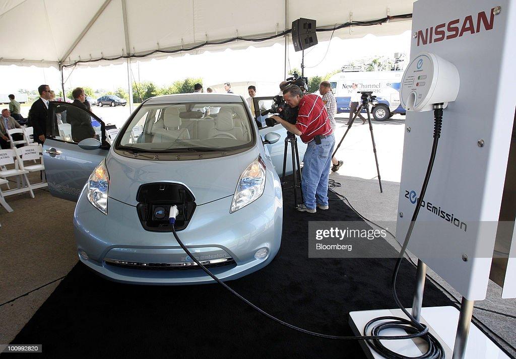 Nissan Starts Constructing U S Battery Plant Expecting