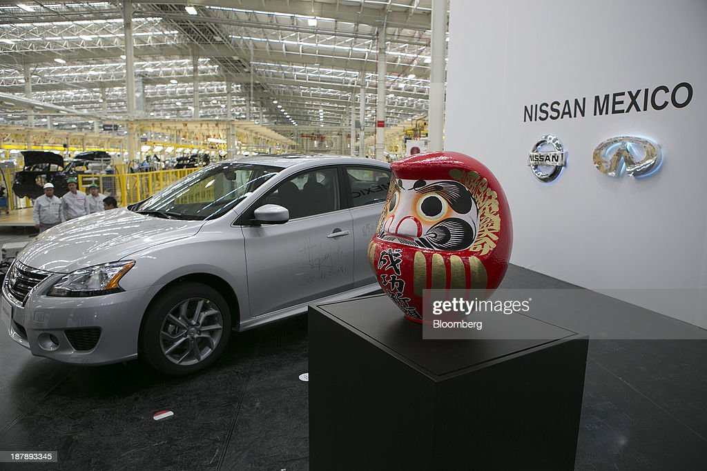 A Nissan Motor Co Car Signed By Mexican President Enrique