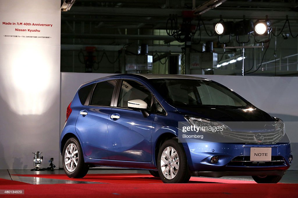 Production inside nissan motor co 39 s kyushu plant getty for Marketing strategy of nissan motor company
