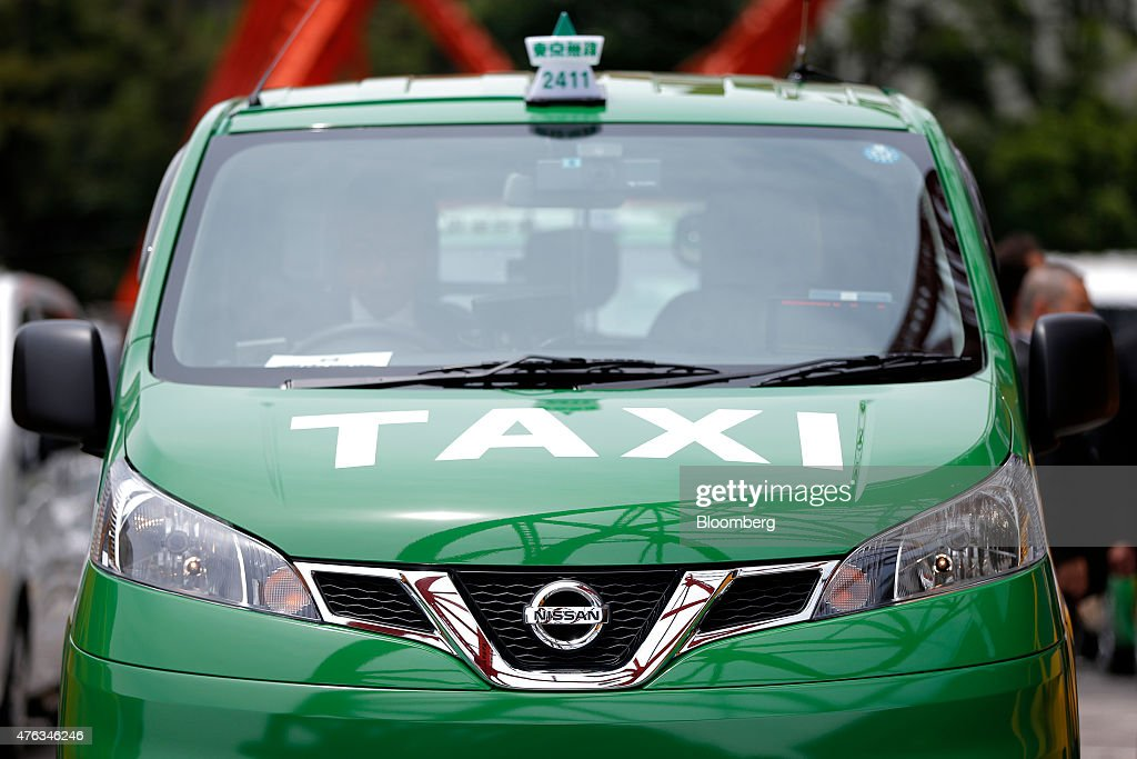 Nissan Begins To Sell Nv200 Taxis In Japan Getty Images