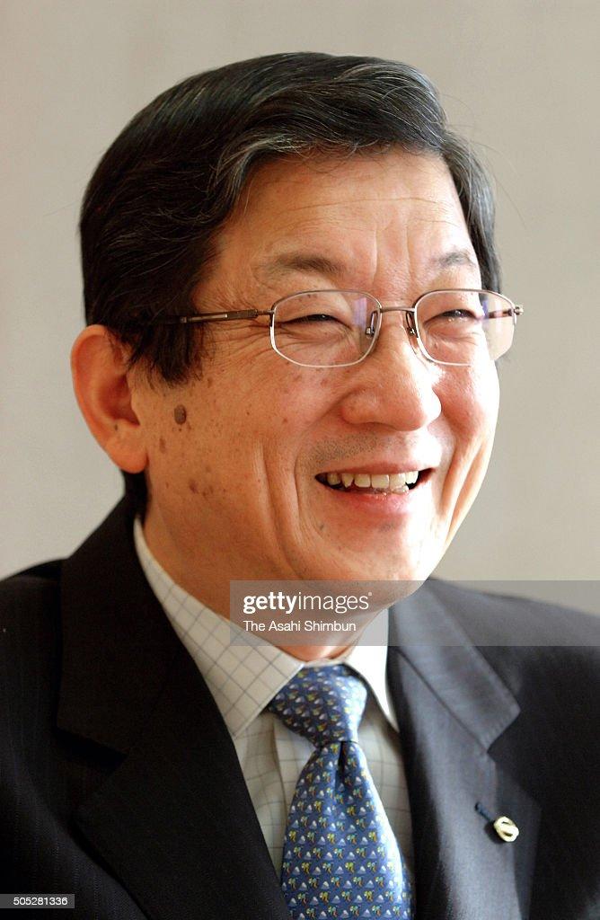 Nissan Motor COO Toshiyuki Shiga speaks during the Asahi Shimbun interview at the company headquarters on December 25 2006 in Tokyo Japan