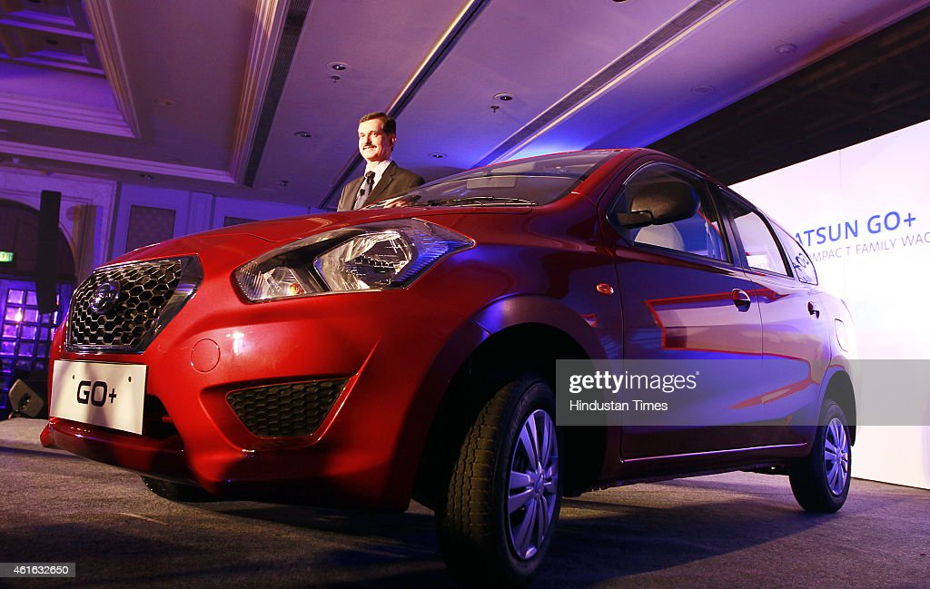 Nissan Launches Datsun Go In India Getty Images