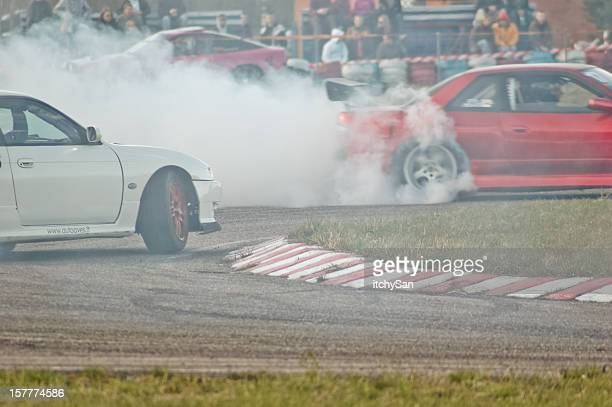 Nissan PS13 und S14 tandem ziehen