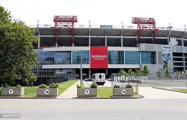 Nissan Stadium home of the Tennessee Titans football team on July 19 2015 in Nashville Tennessee