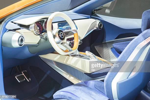Nissan Sway concept car interior