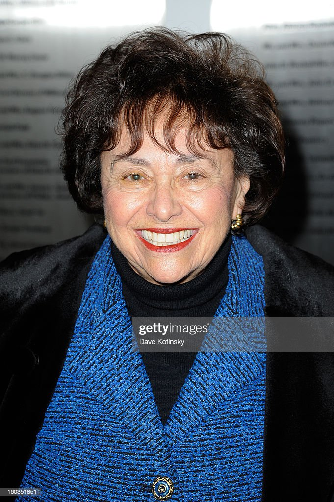 <a gi-track='captionPersonalityLinkClicked' href=/galleries/search?phrase=Nita+Lowey&family=editorial&specificpeople=878051 ng-click='$event.stopPropagation()'>Nita Lowey</a> attends 'Koch' New York Premiere at MOMA on January 29, 2013 in New York City.