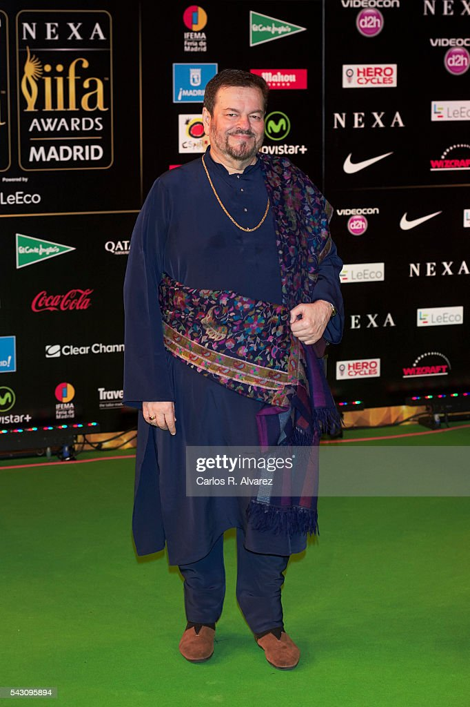 Nitin Mukesh attends the 17th IIFA Awards (International Indian Film Academy Awards) at Ifema on June 25, 2016 in Madrid, Spain.