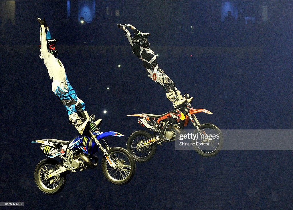 Nitro Circus Live at Manchester Arena on December 4, 2012 in Manchester, England.