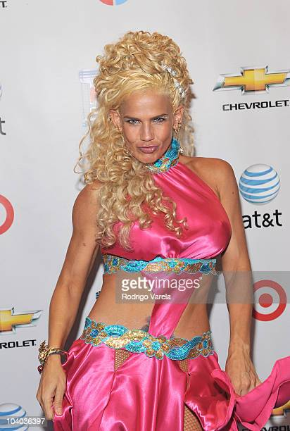 Niurka Marcos attends 'Mira Quien Baila' premiere show on September 12 2010 in Miami Florida