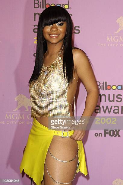 Nivea during 2002 Billboard Music Awards Press Room at MGM Grand Arena in Las Vegas Nevada United States