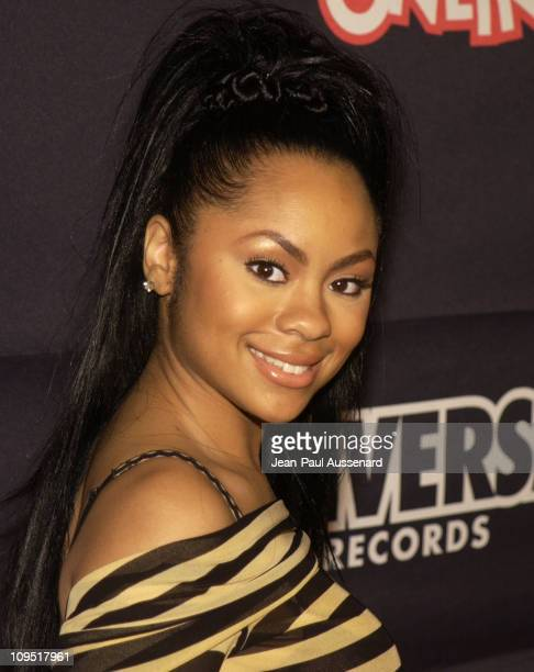 Nivea during Teen People and Universal Records Honor Nelly as the 2002 Artist of the Year Arrivals at Ivar in Hollywood California United States