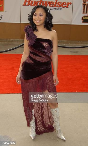 Nivea during The 17th Annual Soul Train Music Awards Arrivals at Pasadena Civic Auditorium in Pasadena California United States