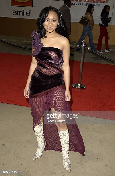 Nivea during The 17th Annual Soul Train Music Awards Arrivals at Pasadena Civic Auditorium in Pasadena California United States