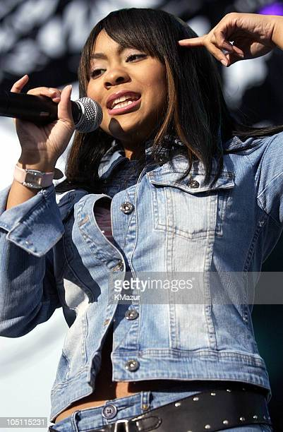 Nivea during WBLI Summer Jam 2003 Show at Jones Beach Amphitheatre in Wantagh New York United States