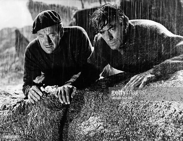 Niven David *Schauspieler GB mit Gregory Peck in dem Film 'Die Kanonen von Navrarone' 1962