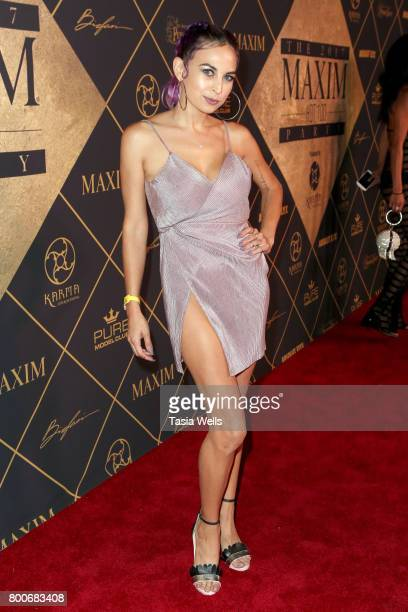 Nixy attends the 2017 MAXIM Hot 100 Party at Hollywood Palladium on June 24 2017 in Los Angeles California