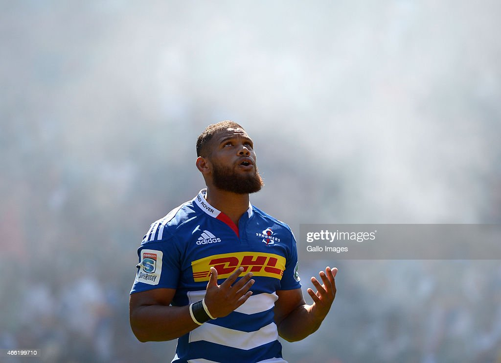 Carr of the Stormers during the Super Rugby match between DHL Stormers ...