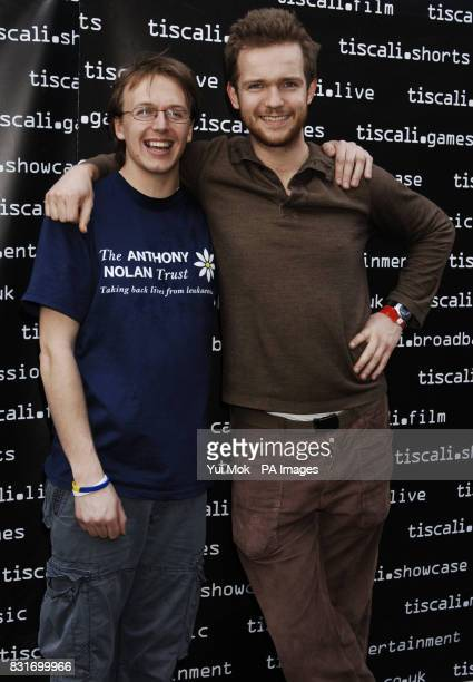 Nizlopi Luke Concannon and John Parker during a photocall for the Tiscali Sessions secret gig held at Cargo in Shoreditch east London Monday 3 April...