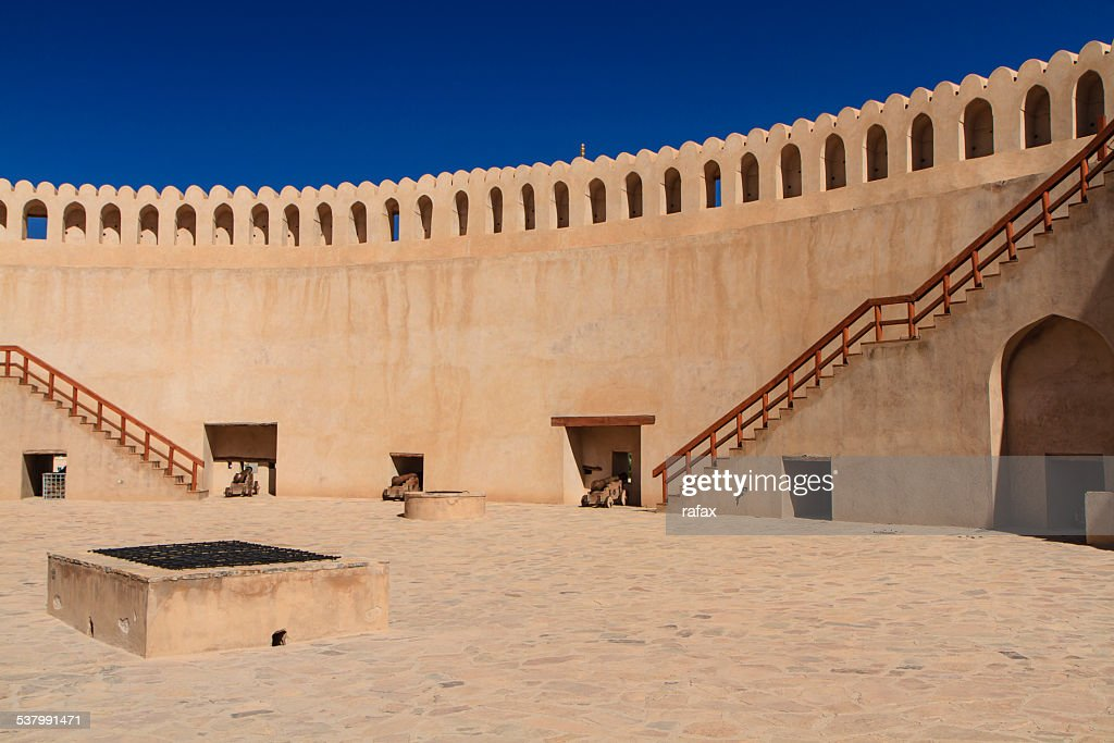 Nizwa fort from the inside, Oman