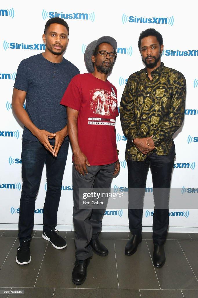 Celebrities Visit SiriusXM - August 16, 2017
