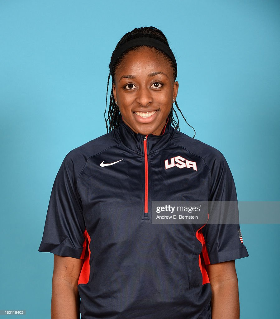 Nneka Ogwumike poses for a head shot during the USA Womens National Team Mini-Camp on October 4, 2013 at the Cox Pavilion in Las Vegas, Nevada.