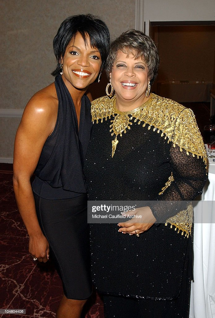 Nnenna Freelon and Patti Austin during Placido Domingo honored with the 11th Annual ELLA Award at Beverly Hilton Hotel in Beverly Hills California...