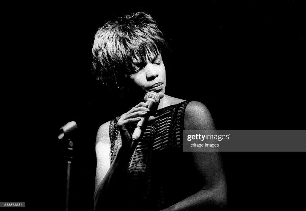 Nnenna Freelon at Ronnie Scott's in Soho London England July 2000