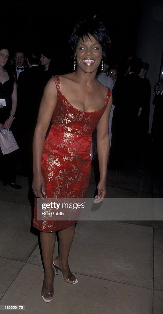 Nnenna Freelon attends 10th Annual Ella Awards Honoring Julie Andrews on April 25 2001 at the Beverly Hilton Hotel in Beverly Hills California