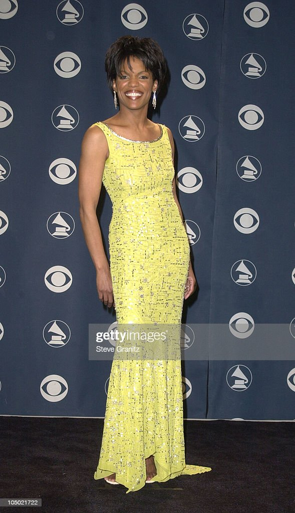 Nnenna Freelon during 43rd Annual Grammy Awards at Staples Center in Los Angeles California United States