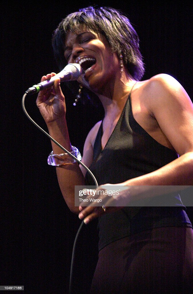 Nnenna Freelon during The Jazz Foundation of America presents a benefit for its Jazz Musicians Emergency Fund'A Great Night In Harlem' at the Apollo...