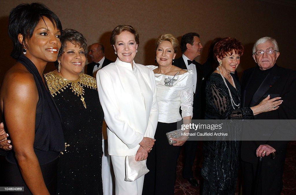 Nnenna Freelon Patti Austin Julie Andrews Ginny Mancini Marion Ross and Blake Edwards