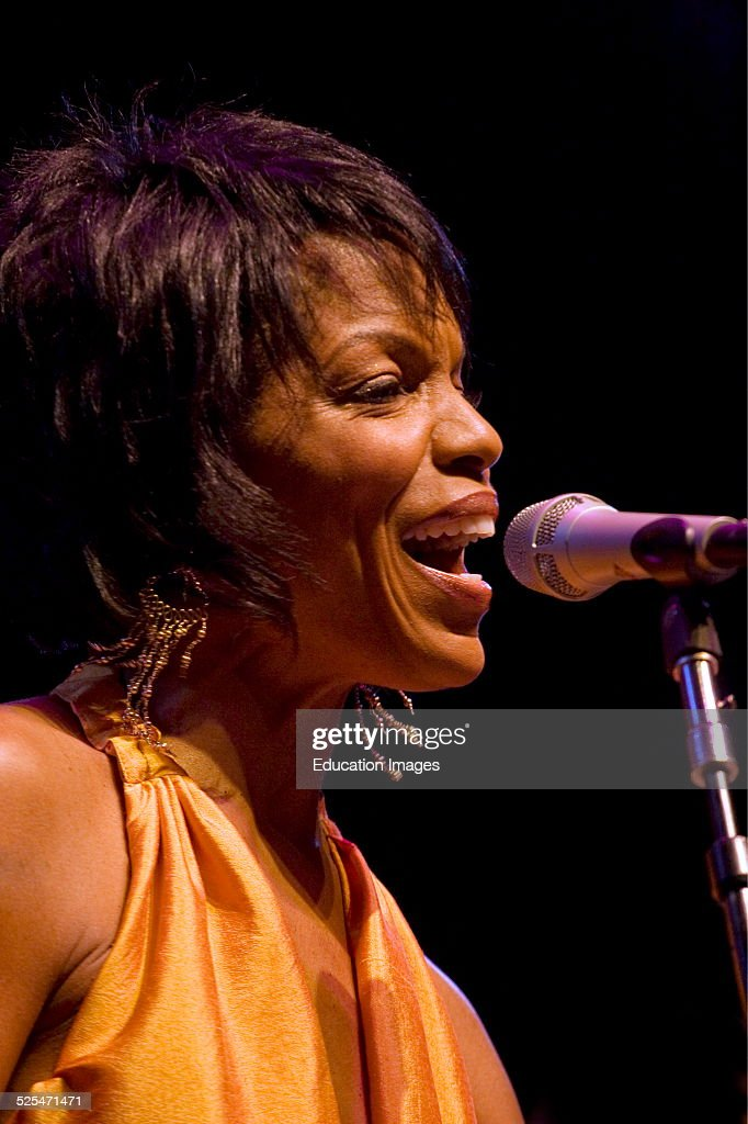 Nnenna Freelon Sings With The 50Th Anniversary AllStars At The 50Th Anniversary Monterey Jazz Festival Monterey California
