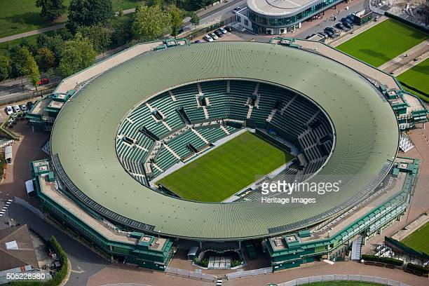 No 1 Court All England Lawn Tennis and Croquet Club Wimbledon London 2006 Opened in 1997 No 1 Court is the next most prestigious tennis court at...
