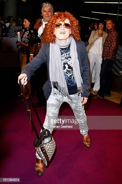 No Angels member singer Lucy Diakowska attends the 'Hanni Nanni World Premiere' at Mathaeser cinema on May 30 2010 in Munich Germany