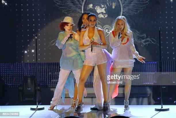 No Angels Musikgruppe Girlgroup Popmusik D Auftritt beim Vorentscheid zum Eurovision Song Contest 2008 im Deutschen Schauspielhaus in Hamburg Probe