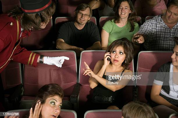No Cell Phones in Movie Theater
