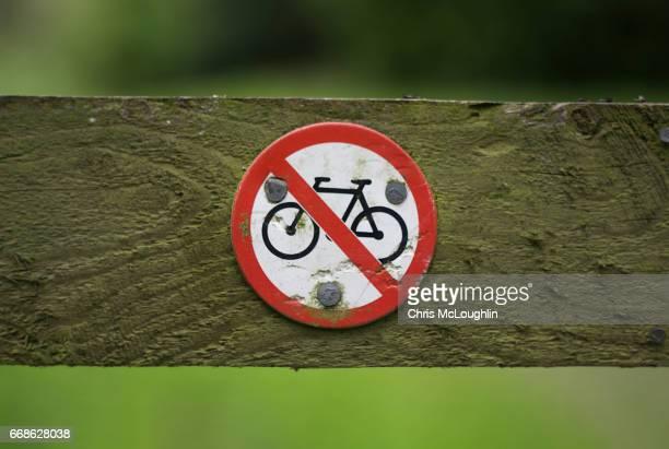 No Cycle sign