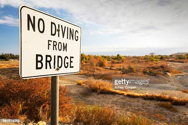 No Diving Sign Stock Photos And Pictures Getty Images