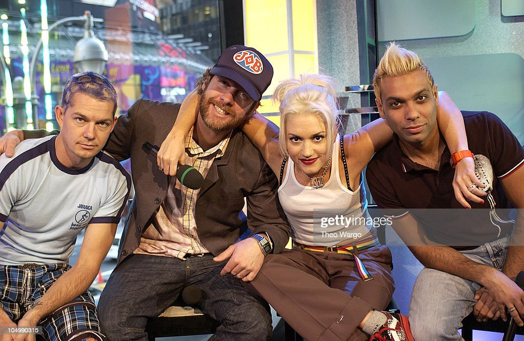 No Doubt during MTV Celebrates 'TRL's' 1000th Show October 23 2002 at MTV Studios Times Square in New York City New York United States