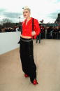 No Doubt lead singer Gwen Stefani attends the Christian Dior Fall/Winter 2004 readytowear collection by designer John Galliano March 6 2003 in Paris...