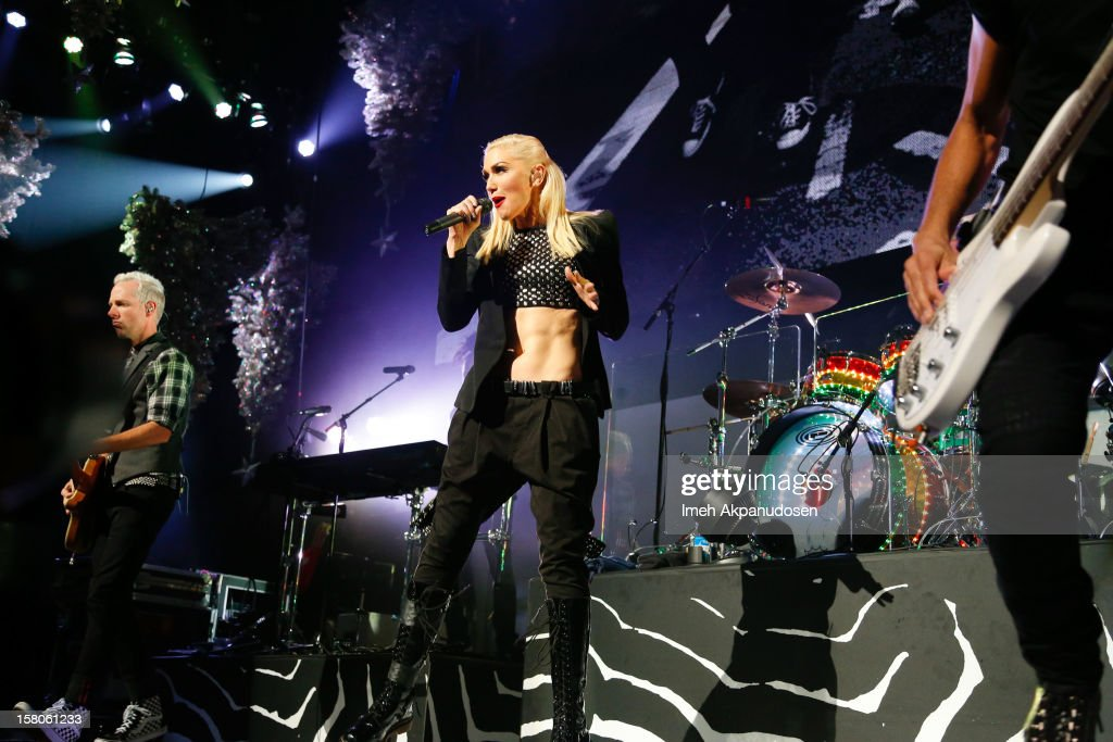 No Doubt performs onstage at the 23rd Annual KROQ Almost Acoustic Christmas at Gibson Amphitheatre on December 9, 2012 in Universal City, California.