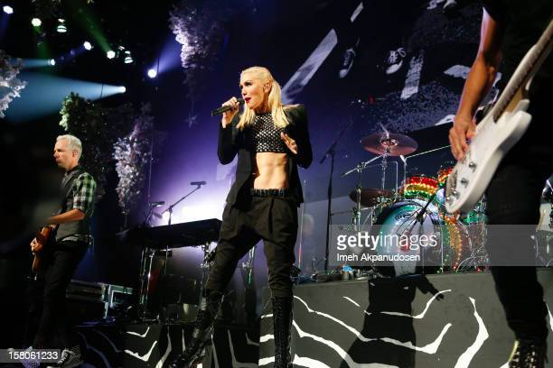 No Doubt performs onstage at the 23rd Annual KROQ Almost Acoustic Christmas at Gibson Amphitheatre on December 9 2012 in Universal City California