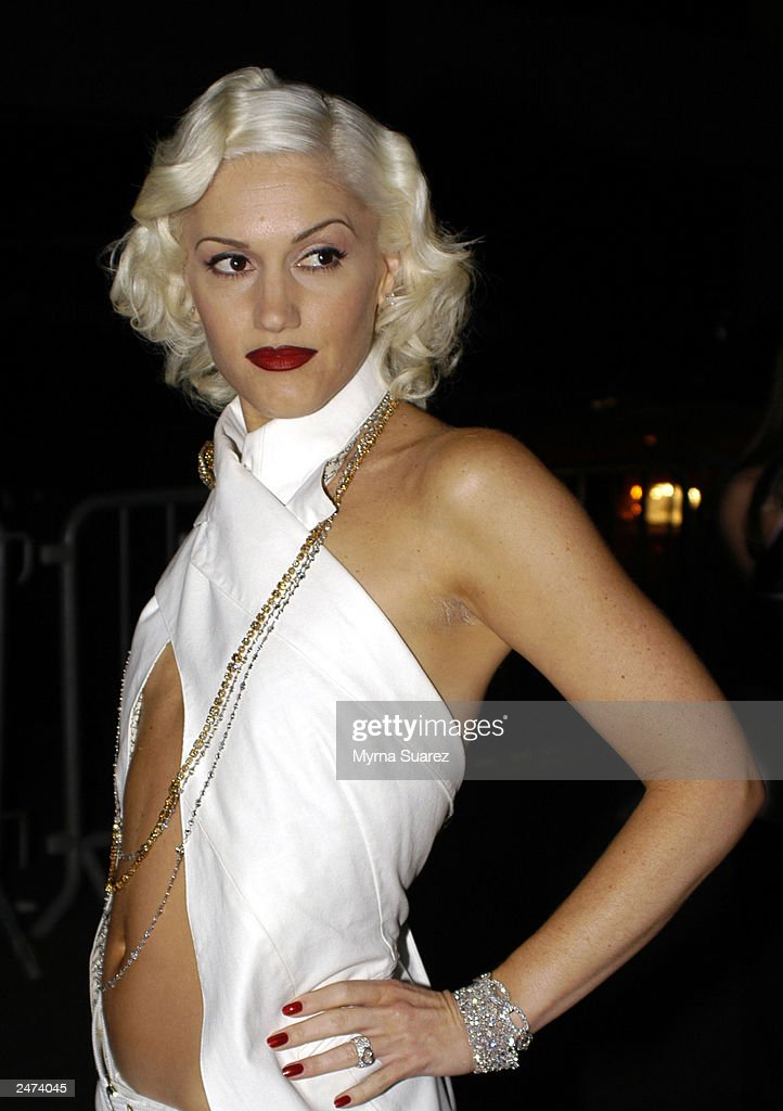 No Doubt singer and fashion icon Gwen Stefani arrives at a party celebrating a line of Lesportsac handbags Stefani designed called LAMB at Four...
