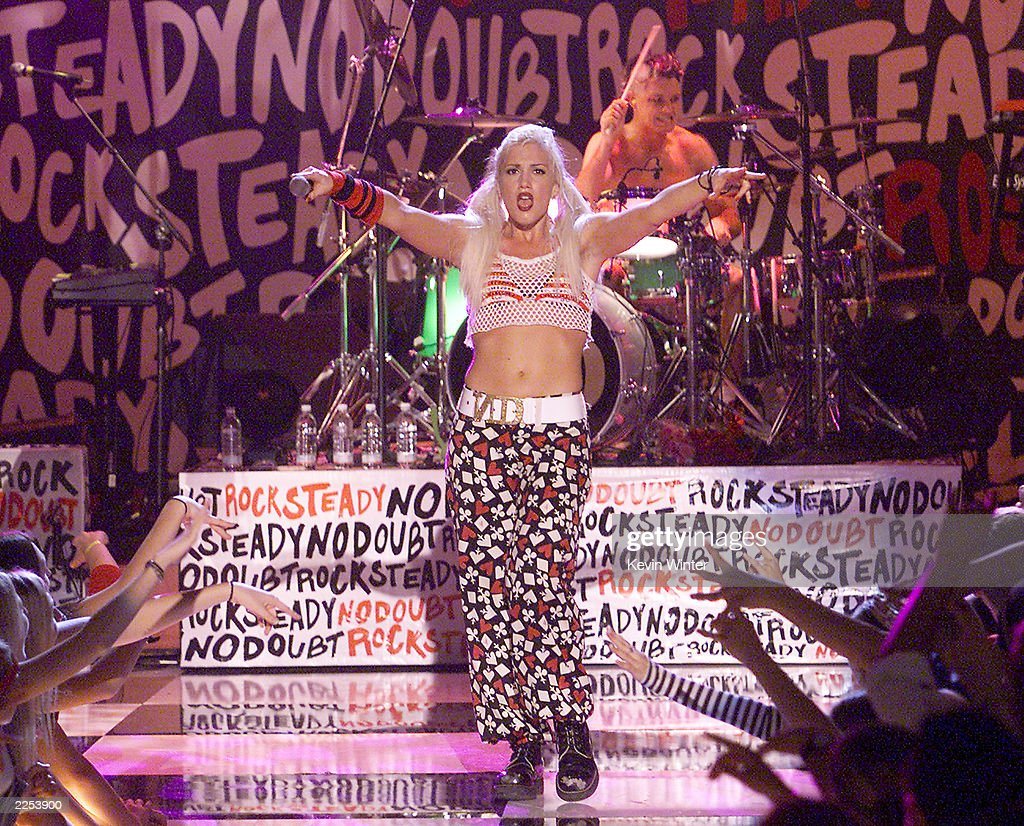 No Doubt with singer Gwen Stefani performs at the Wadsworth Theater during a taping of ABC Family's 'Front Row Center' in Los Angeles Ca Sunday...