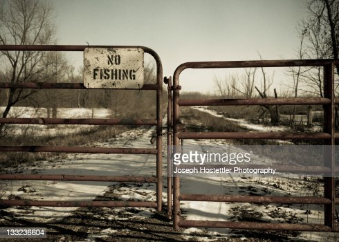 No fishing stock photo getty images for Indiana fishing license cost