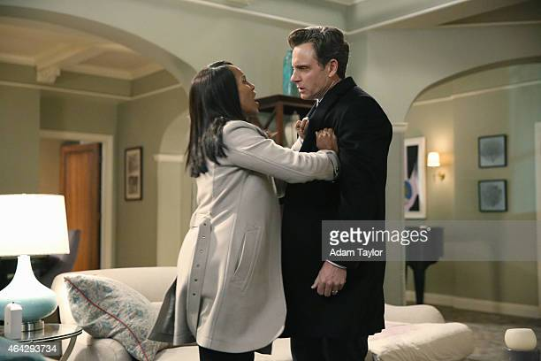 SCANDAL 'No More Blood' As the bidding for Olivia Pope continues the gladiators fight to save her but The White House fears that they may lose her...