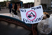 No more evictions sign Travellers at Dale Farm site prior to eviction Riot police and bailiffs were present on 20th October 2011 as the site was...