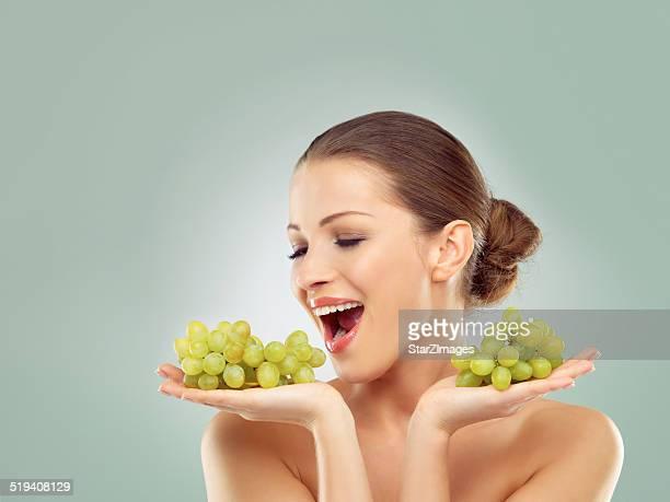 Personne ne pourrait résister à un tas de raisin